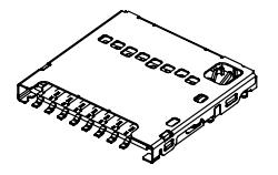 MicroSD no push 1.42 hight