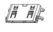 HDMI C TYPE SMT 母座